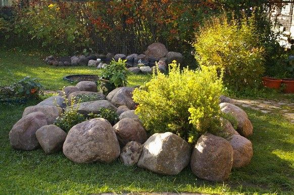 Камень для ландшафтный дизайн